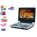 "DVD portatil  9"" y TV digital SCHNEIDER SCD-900 DVB"